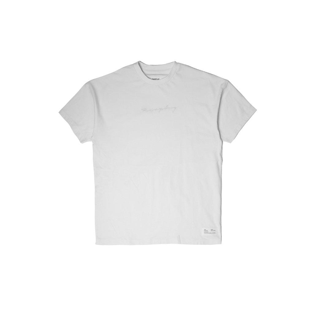 【FAIRPLAY BRAND/フェアプレイブランド】LANSKY Tシャツ / WHITE