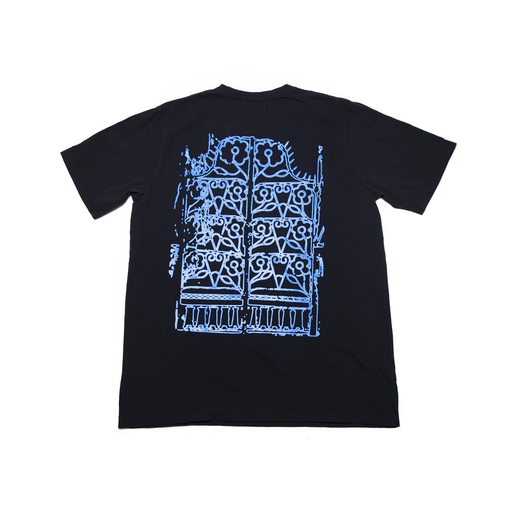 【RAISED BY WOLVES/レイズドバイウルブス】GATEWAY TEE Tシャツ / BLACK