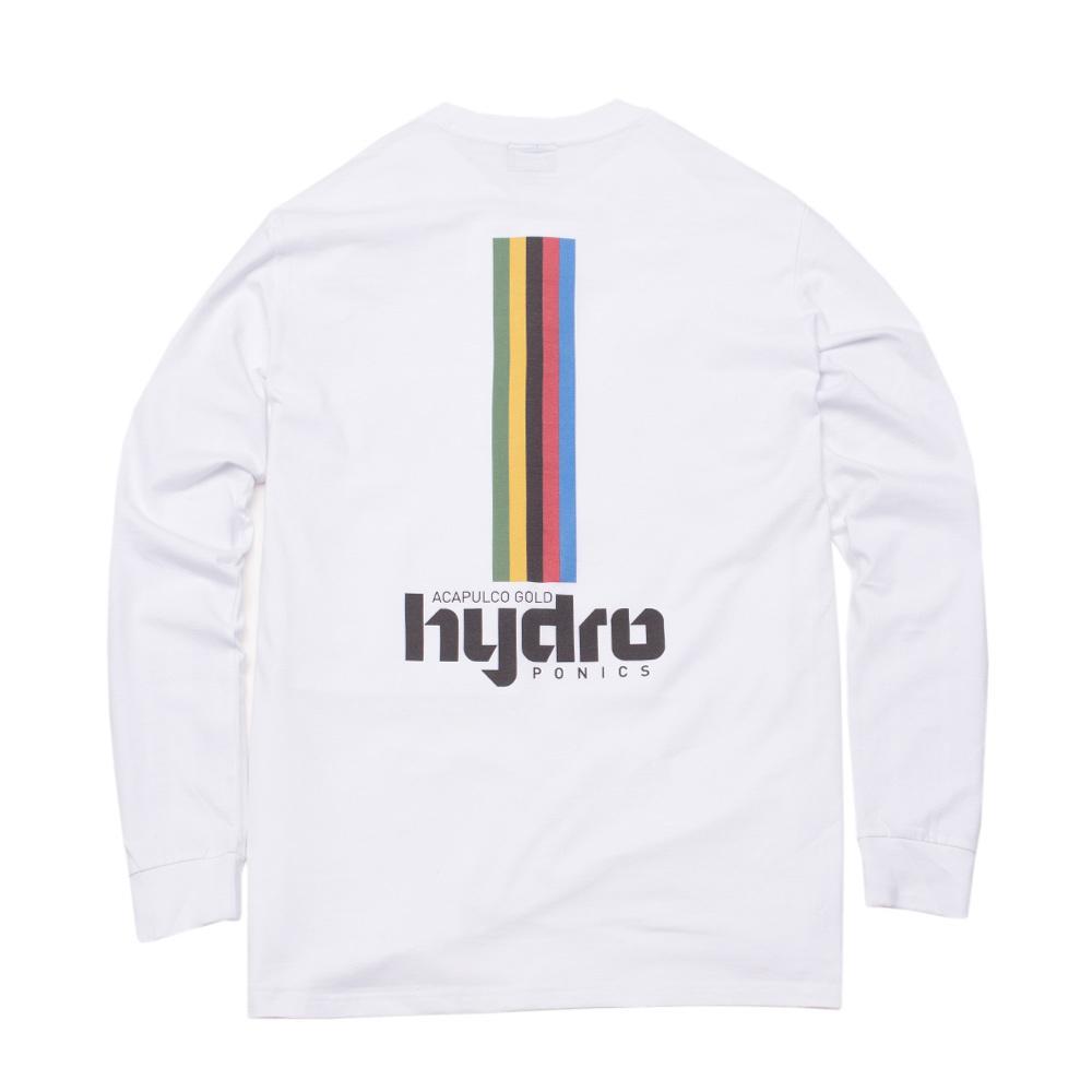 【ACAPULCO GOLD/アカプルコ ゴールド】HYDRO PONICS L/S TEE ロングTシャツ / WHITE