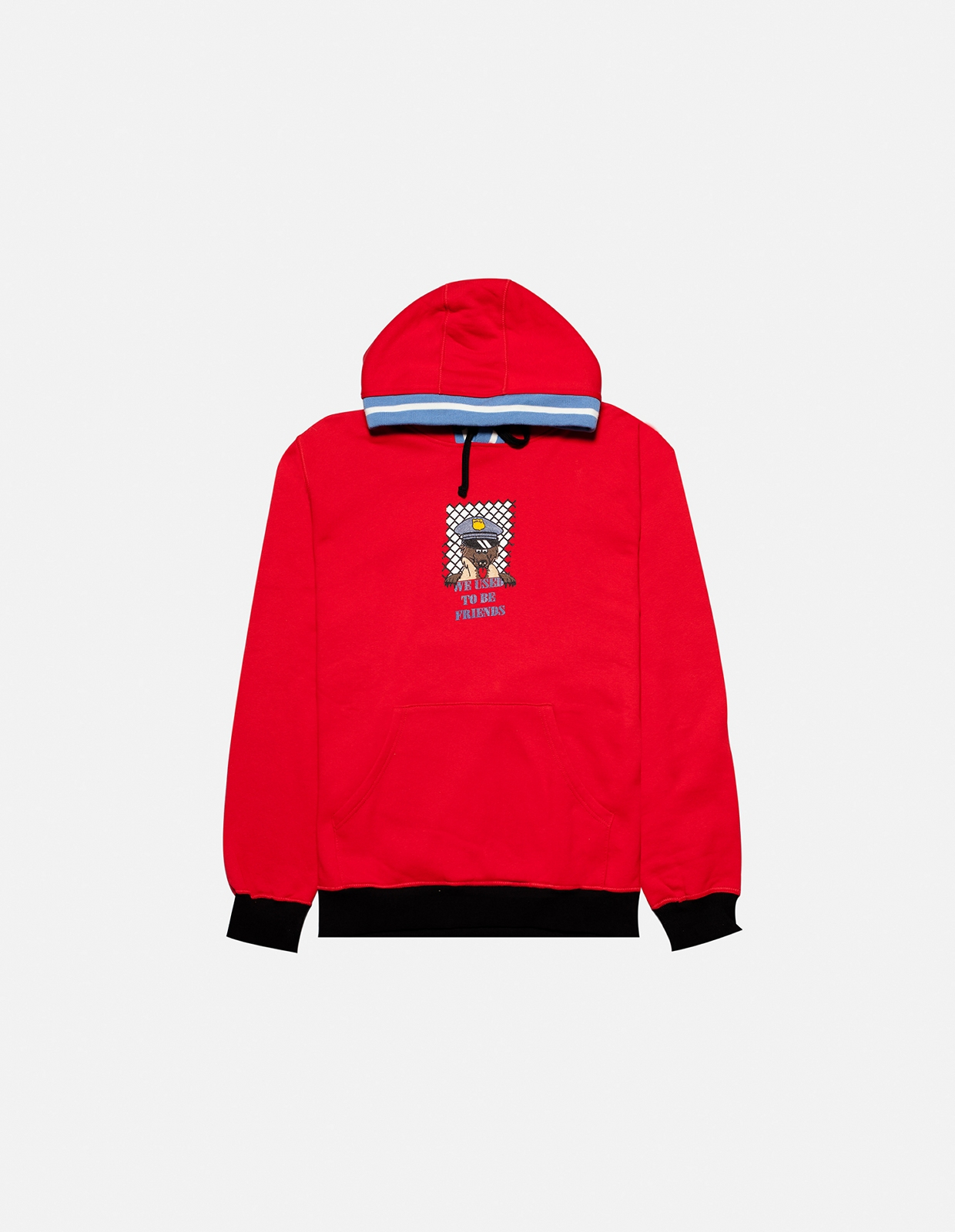 【PAS DE MER/パドゥメ】BEST FRIEND HOODY パーカー / OLD RED