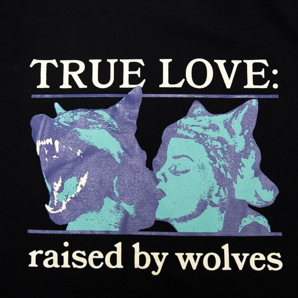 【RAISED BY WOLVES/レイズドバイウルブス】ABSOLUTES TEE Tシャツ / BLACK