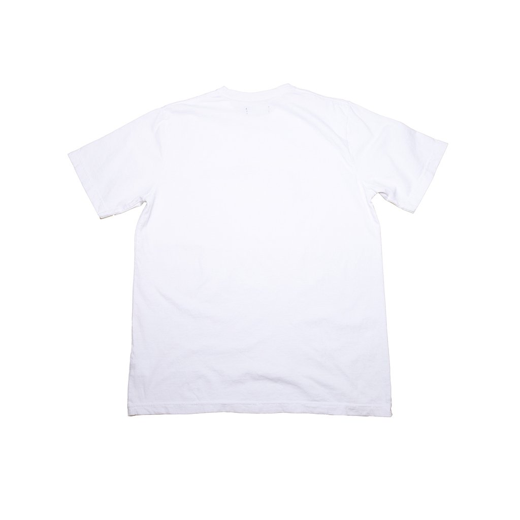 【RAISED BY WOLVES/レイズドバイウルブス】THE END IS HERE TEE Tシャツ / WHITE