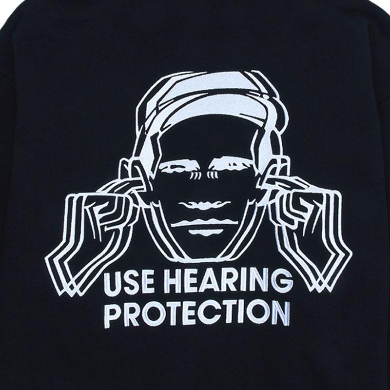 【PLEASURES/プレジャーズ×NEW ORDER/ニュー・オーダー】PROTECTION HOODY パーカー / BLACK