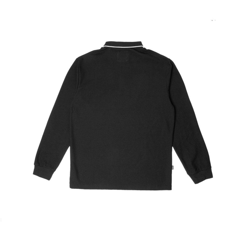 【FAIRPLAY BRAND/フェアプレイブランド】JONGIN ポロシャツ / BLACK