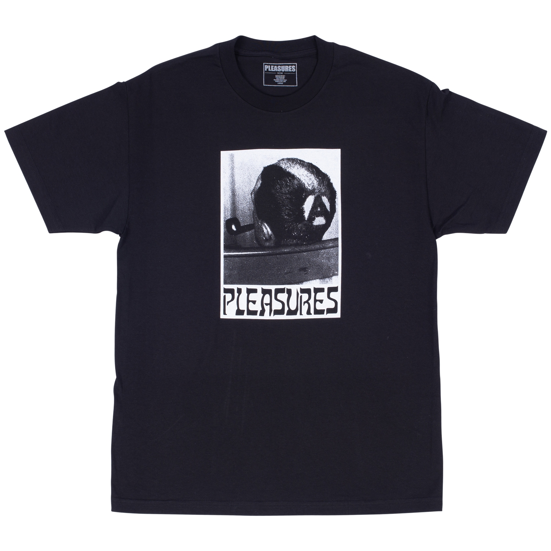 【PLEASURES/プレジャーズ】HAIRCUT T-SHIRT Tシャツ / BLACK