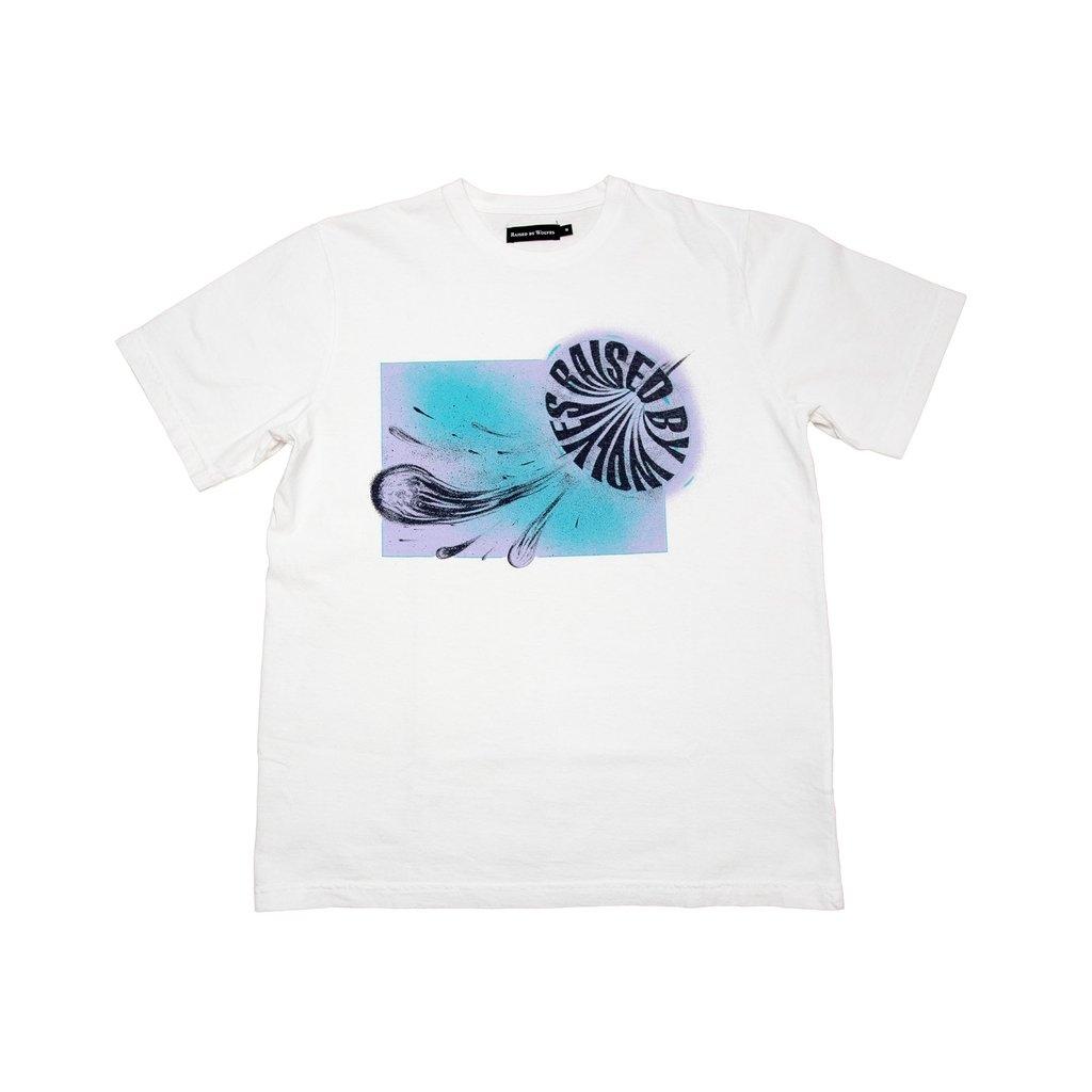 【RAISED BY WOLVES/レイズドバイウルブス】1061C TEE Tシャツ / WHITE