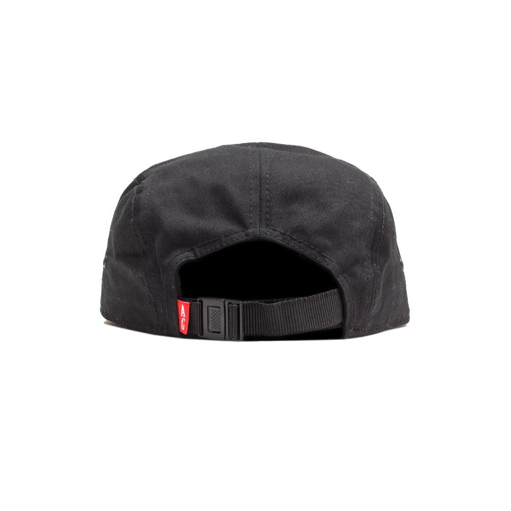 【ACAPULCO GOLD/アカプルコ ゴールド】HYDRO CAMP CAP ストラップバックキャップ / BLACK