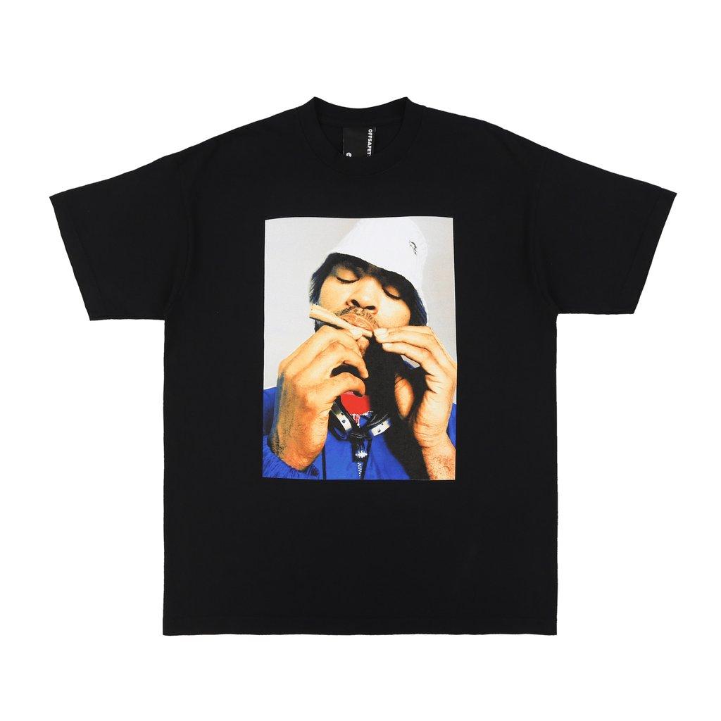 【OFF SAFETY/オフセーフティー】BLUNT WRAP TEE Tシャツ / BLACK