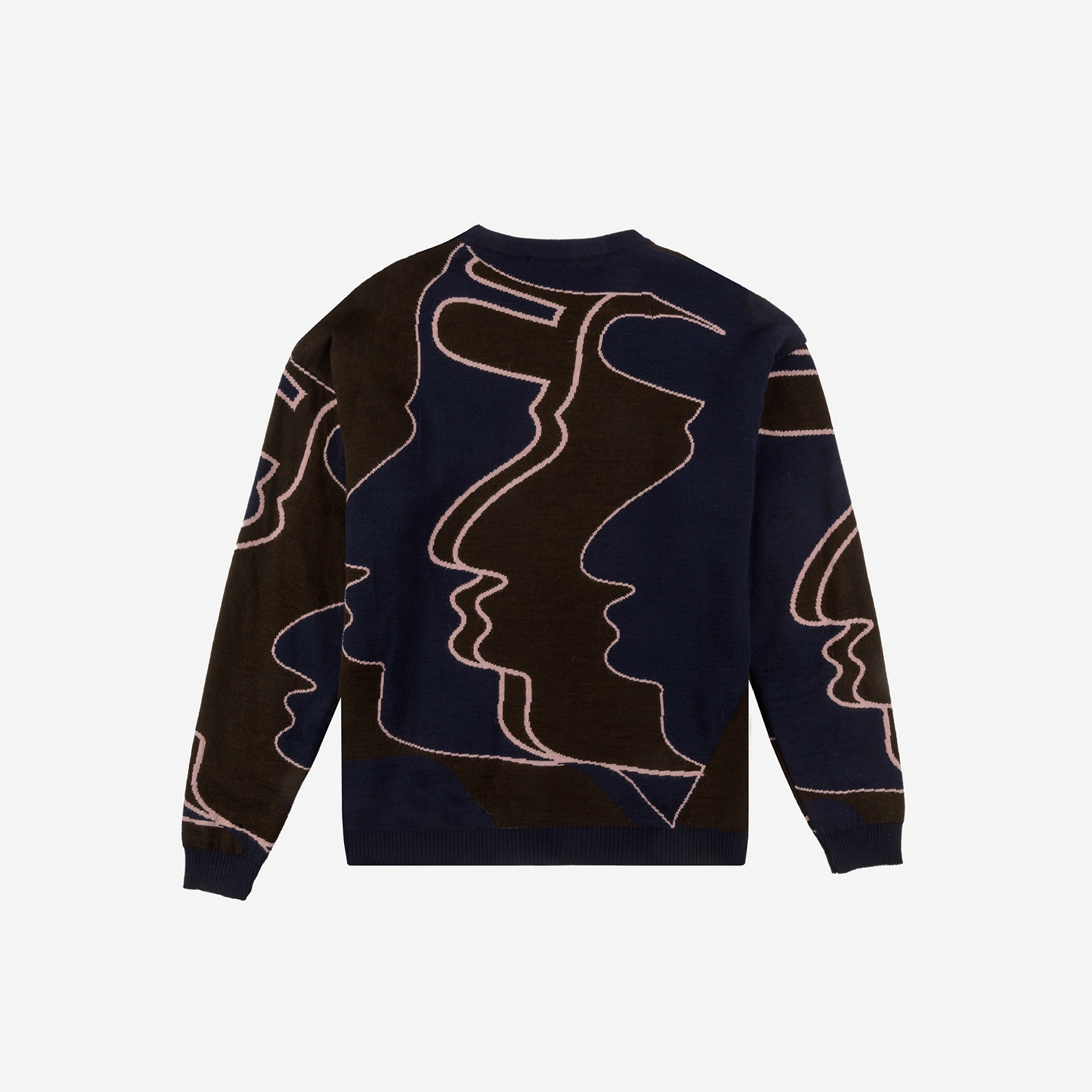 【PAS DE MER/パドゥメ】FOOTBALL JAQUARD KNIT ニットセーター / PATTERN