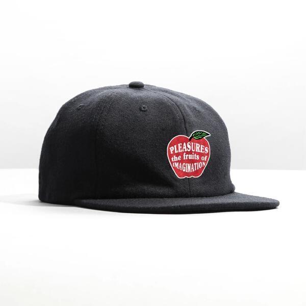 【PLEASURES/プレジャーズ】IMAGINATION UNCONSTRUCTED HAT キャップ / BLACK
