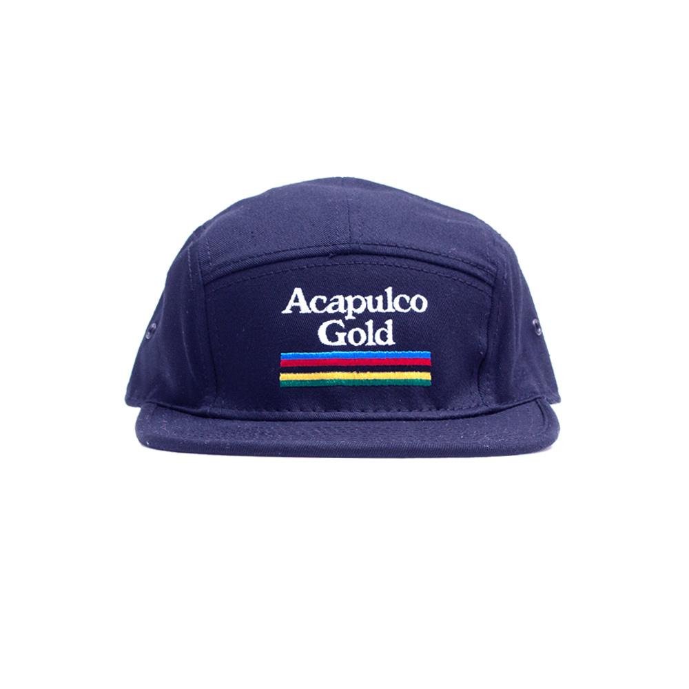 【ACAPULCO GOLD/アカプルコ ゴールド】HYDRO CAMP CAP ストラップバックキャップ / NAVY
