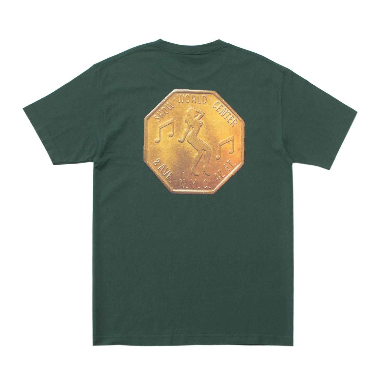 【ACAPULCO GOLD/アカプルコ ゴールド】TOKEN TEE Tシャツ / GREEN