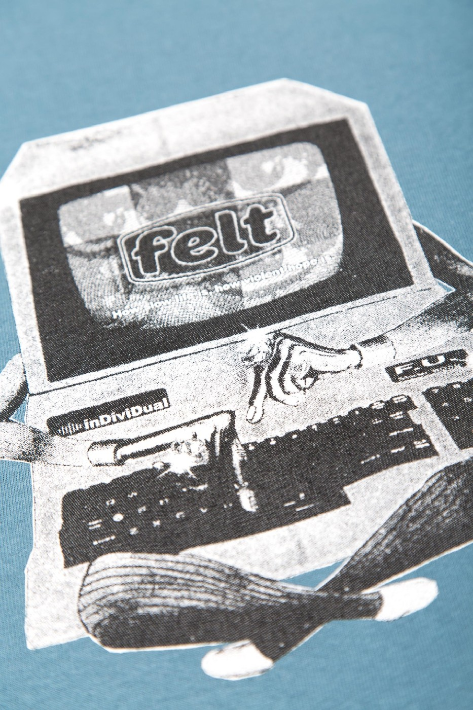 【FELT/フェルト】DIAL UP T-SHIRT Tシャツ / SLT