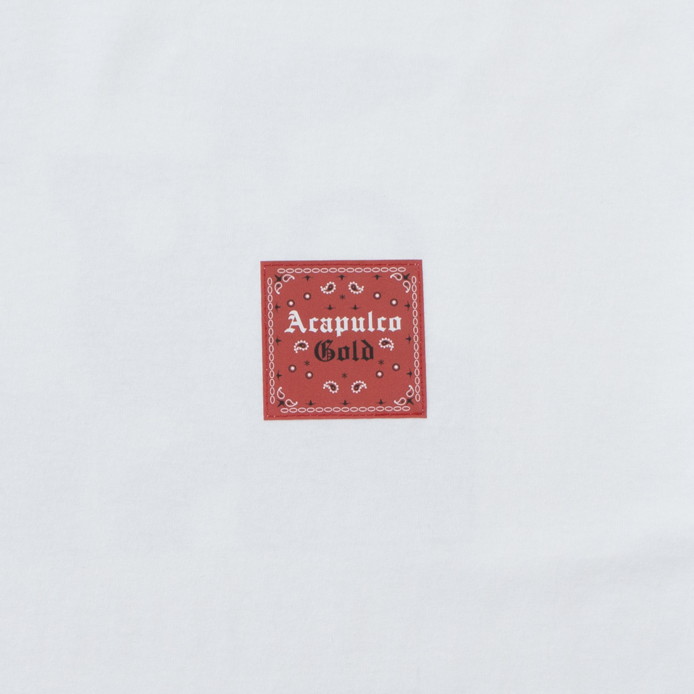 【ACAPULCO GOLD/アカプルコ ゴールド】MADE IN USA (PT.2) TEE Tシャツ / WHITE