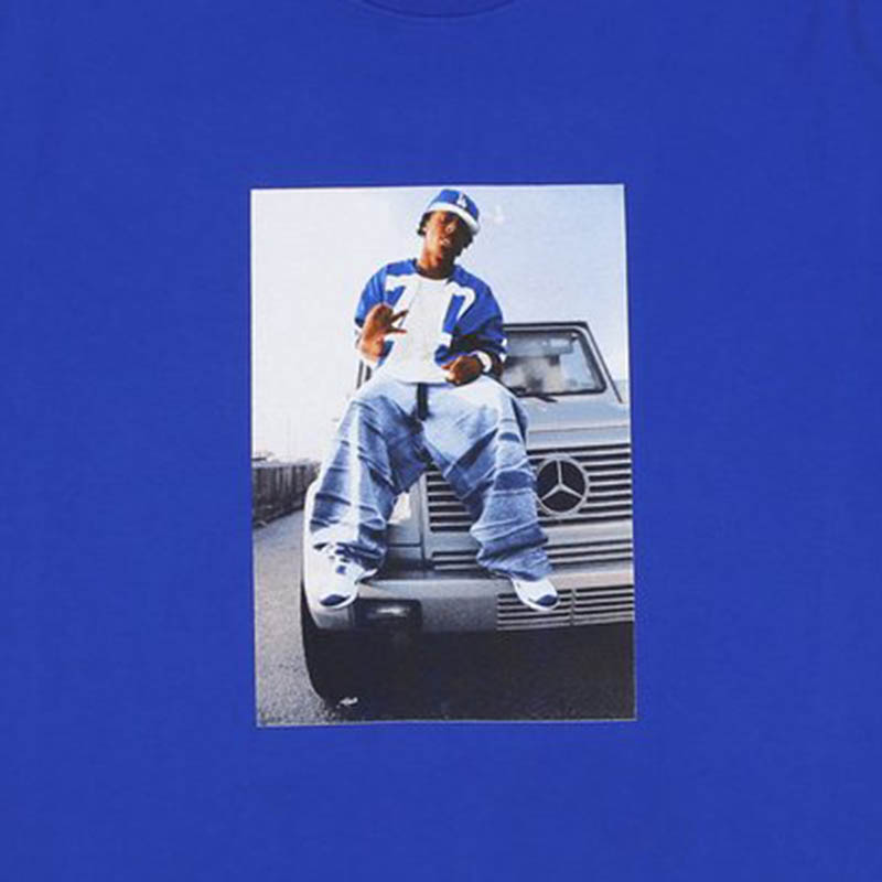 【OFF SAFETY/オフセーフティー】WEEZY WAGON TEE Tシャツ / BLUE