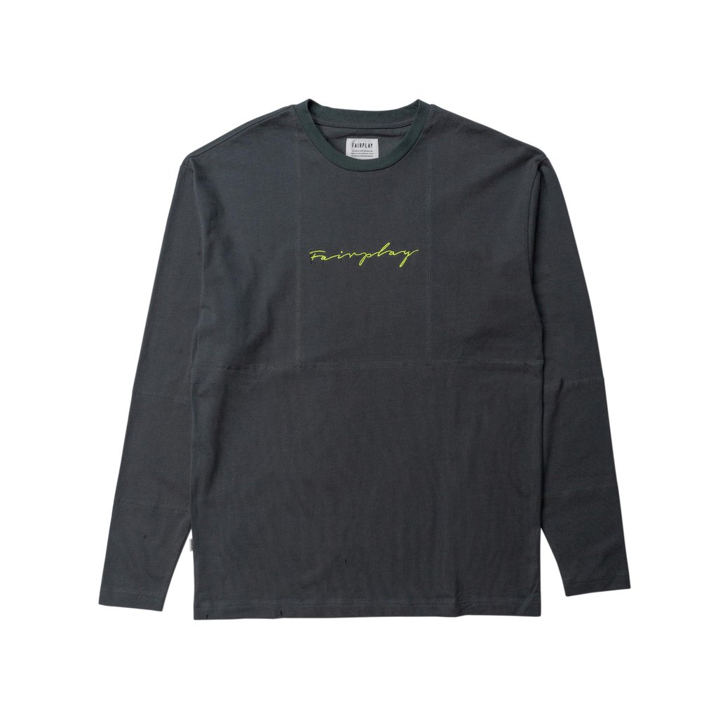 【FAIRPLAY BRAND/フェアプレイブランド】JAVEN 長袖カットソー / GREY