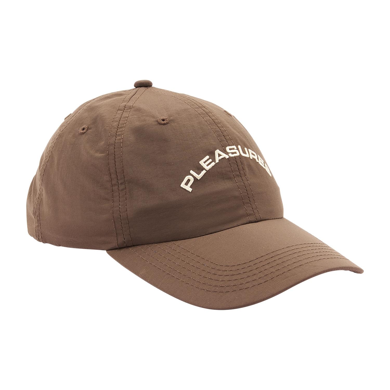 【PLEASURES/プレジャーズ】DESTINY NYLON POLO CAP ポロキャップ / BROWN