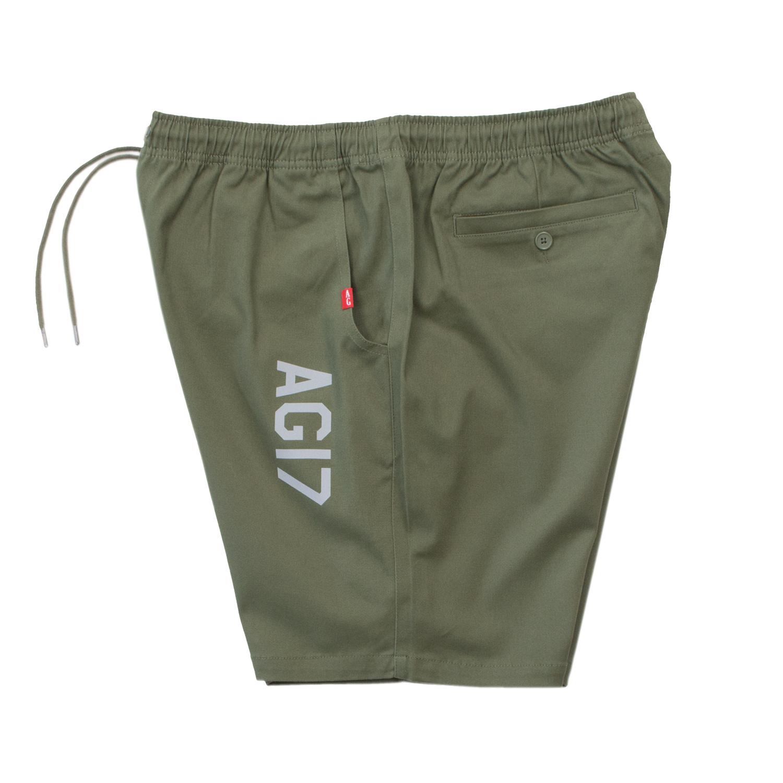 【ACAPULCO GOLD/アカプルコ ゴールド】AG17 REFLECTIVE SKATE SHORTS ショートパンツ / GREEN