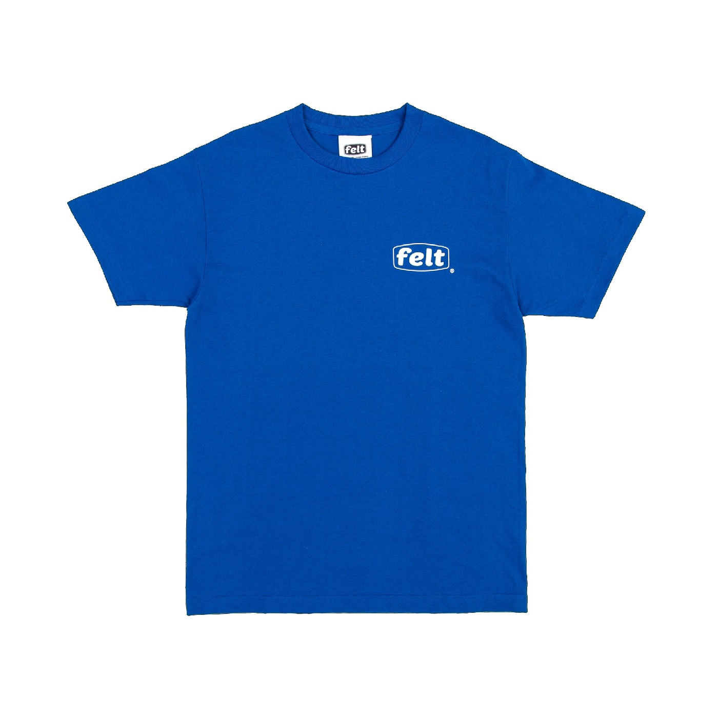 【FELT/フェルト】WORK LOGO T-SHIRT Tシャツ / BLU