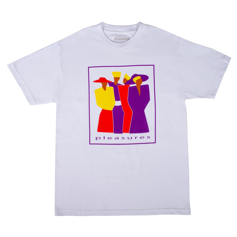 【PLEASURES/プレジャーズ】LEO T-SHIRT Tシャツ / WHITE