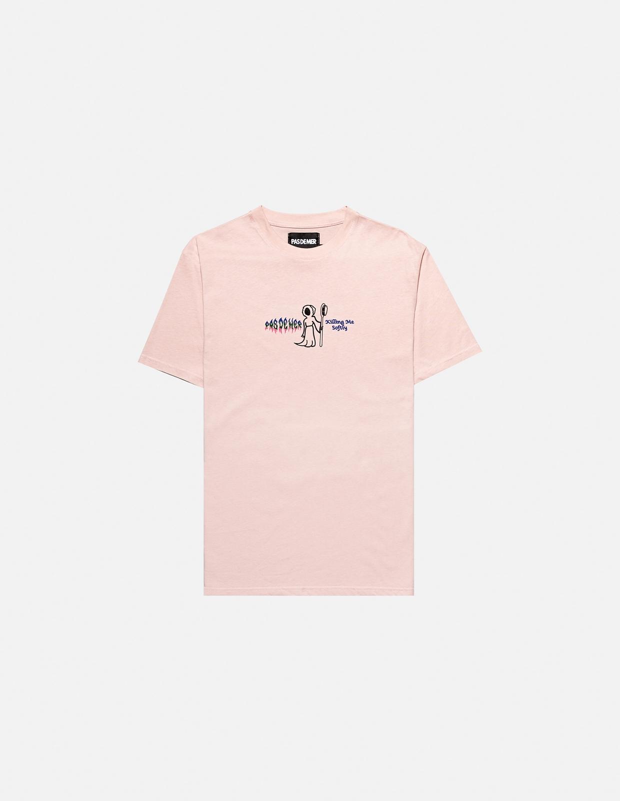 【PAS DE MER/パドゥメ】KILLING ME T-SHIRT Tシャツ / PINK