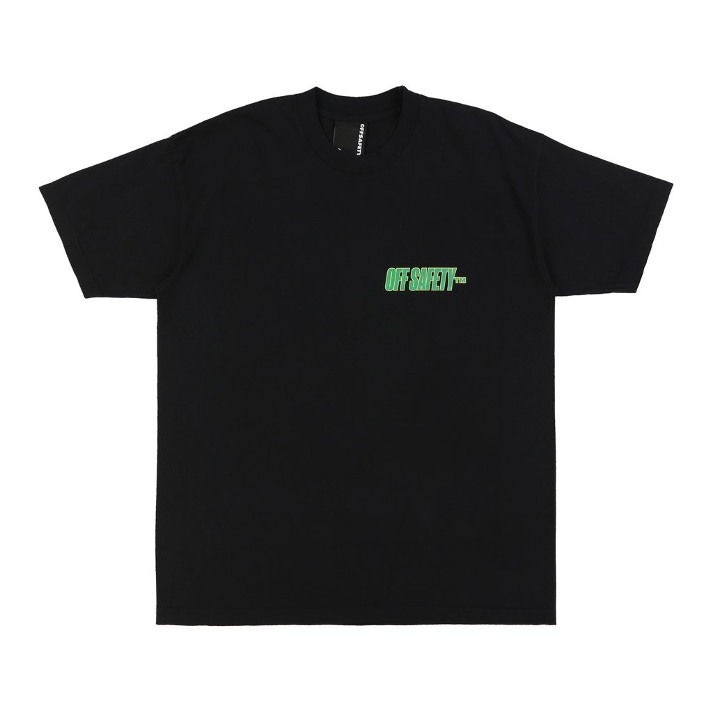 【OFF SAFETY/オフセーフティー】CHECK THE RHYME TEE Tシャツ / BLACK