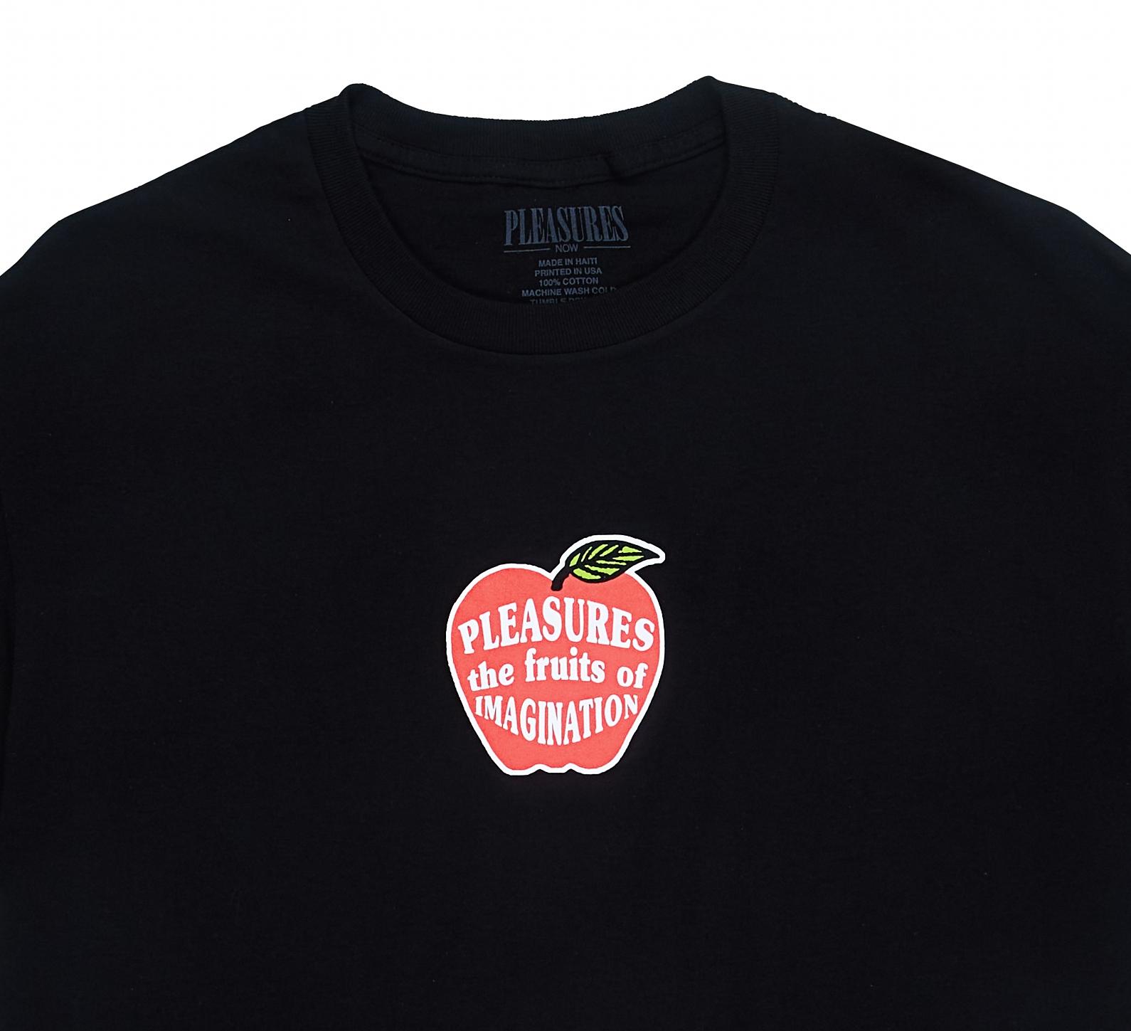【PLEASURES/プレジャーズ】IMAGINATION T-SHIRT Tシャツ / BLACK