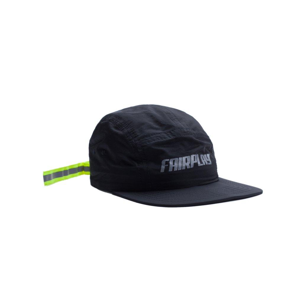 【FAIRPLAY BRAND/フェアプレイブランド】CAMPAA 5パネルキャップ / BLACK