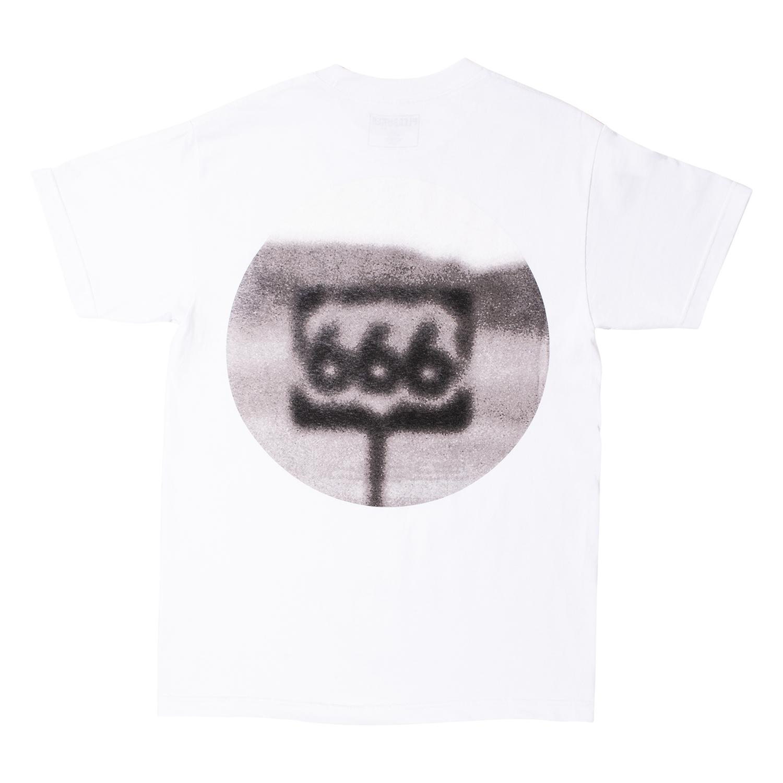 【PLEASURES/プレジャーズ】HIGHWAY T-SHIRT Tシャツ / WHITE