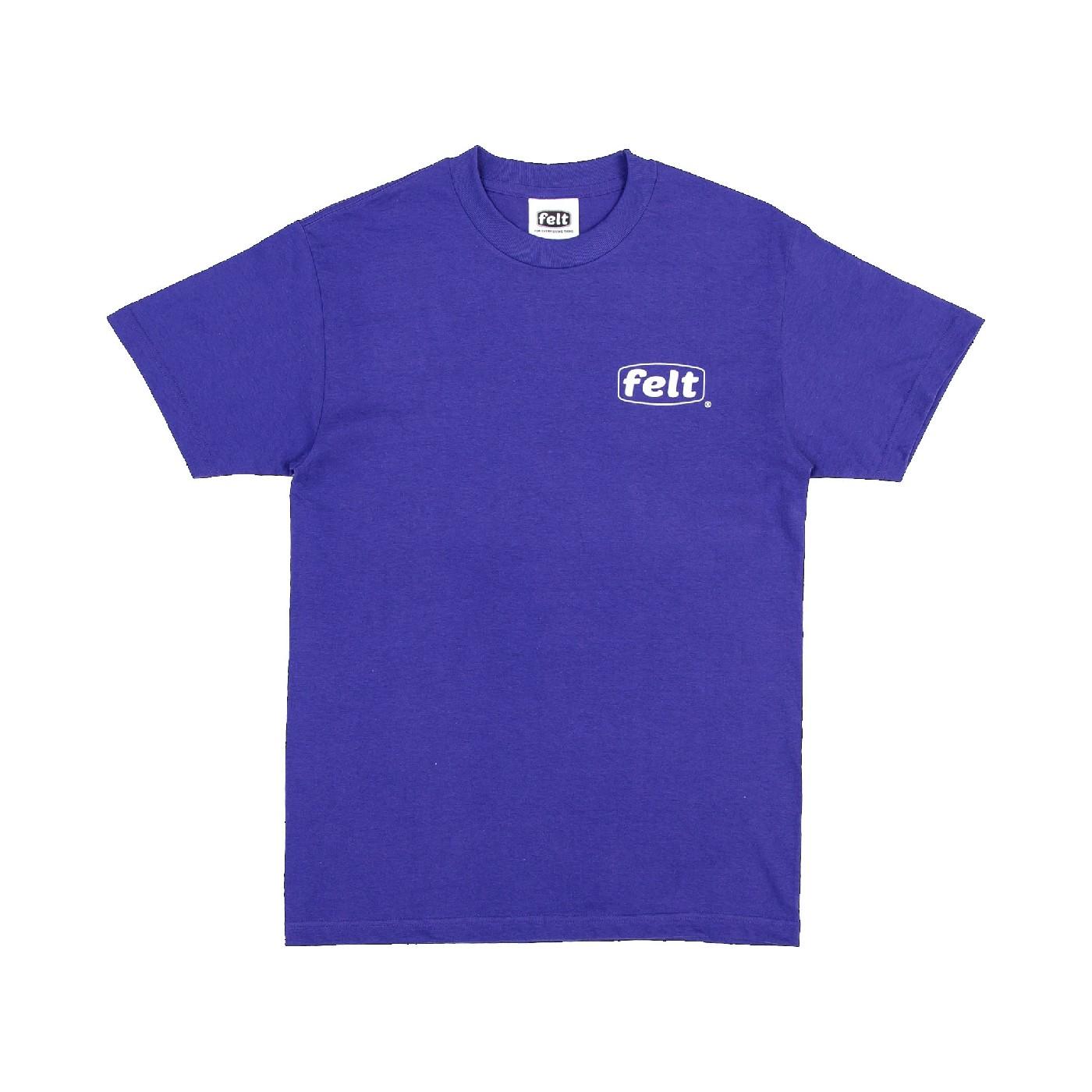 【FELT/フェルト】WORK LOGO T-SHIRT Tシャツ / PPL