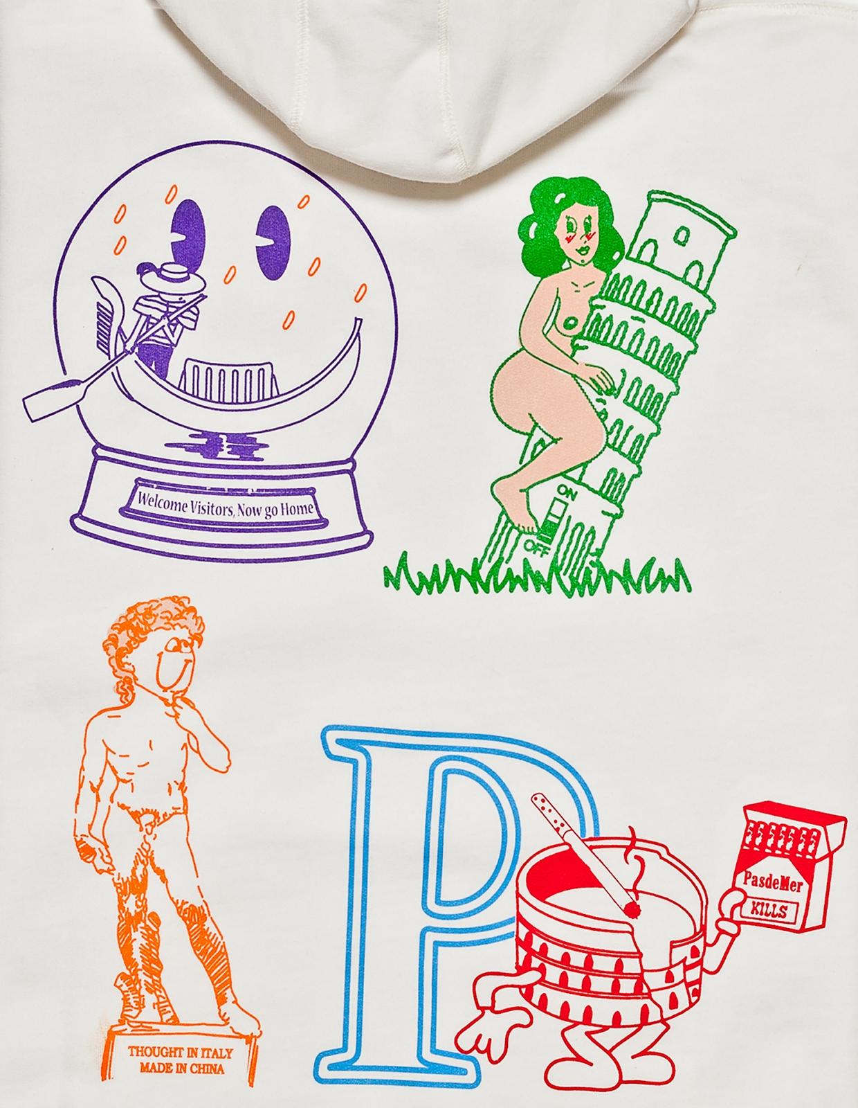 【PAS DE MER/パドゥメ】SOUVENIR HOODY パーカー / CREAM