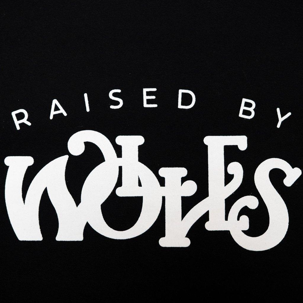 【RAISED BY WOLVES/レイズドバイウルブス】MENTHOL TEE Tシャツ / BLACK