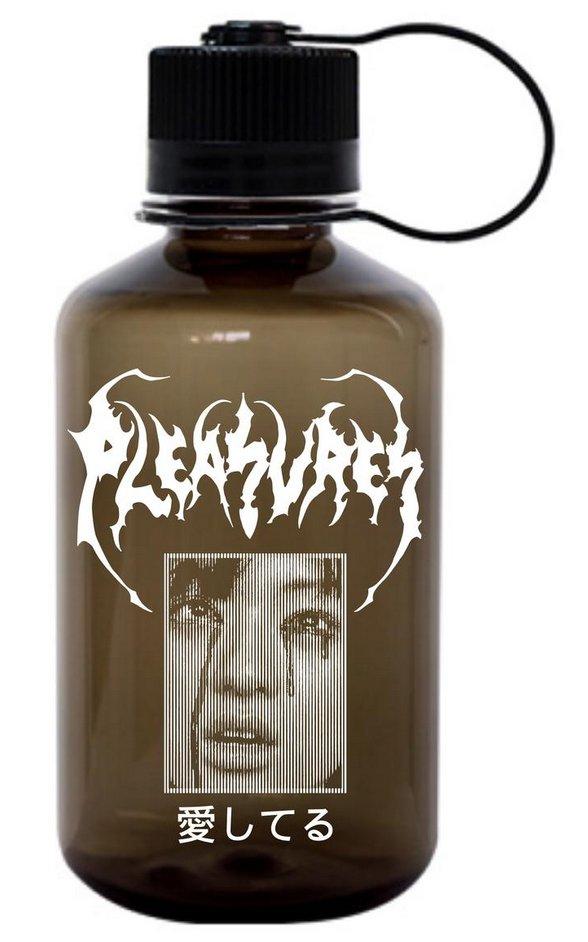 【PLEASURES/プレジャーズ】LONESOME 16 OZ NALGENE WATER BOTTLE ウォーターボトル / BLACK