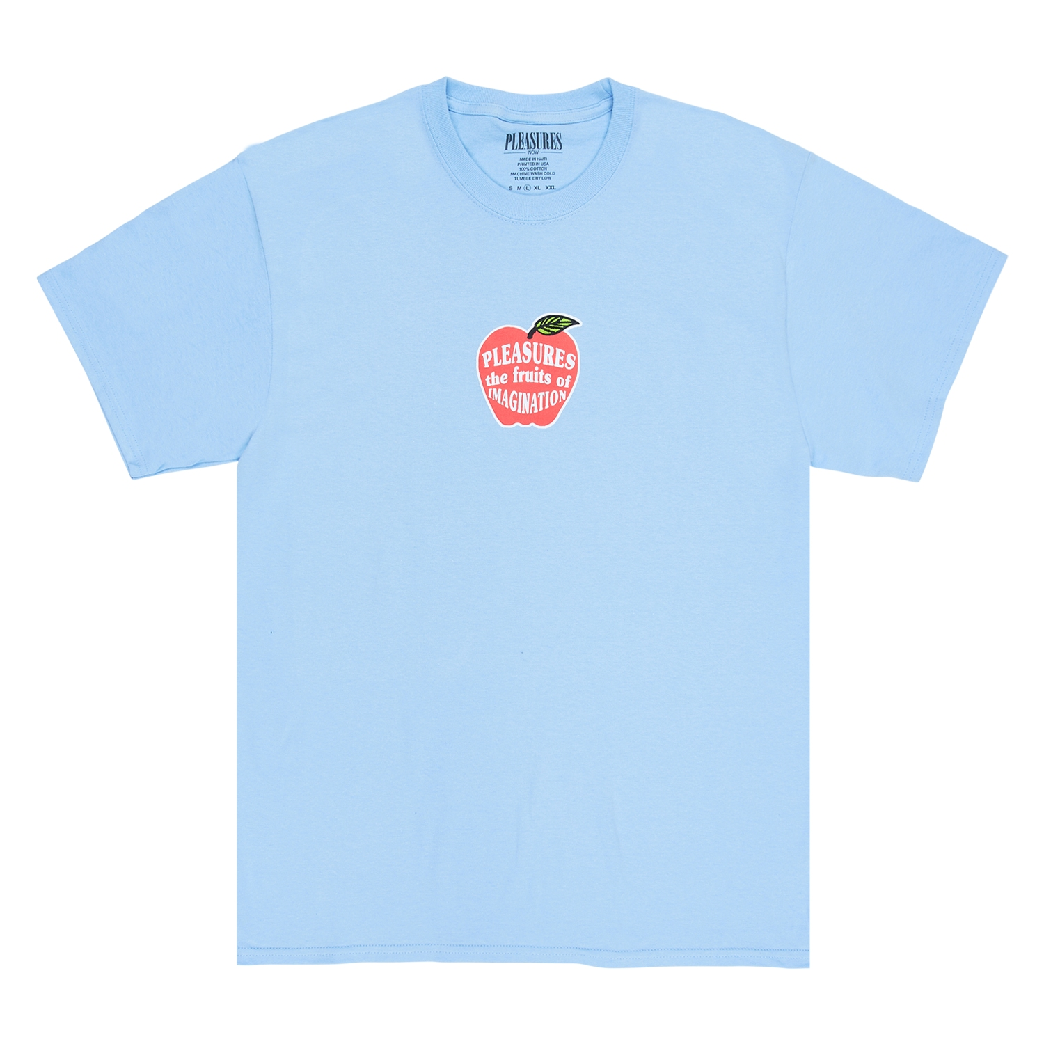 【PLEASURES/プレジャーズ】IMAGINATION T-SHIRT Tシャツ / POWDER BLUE