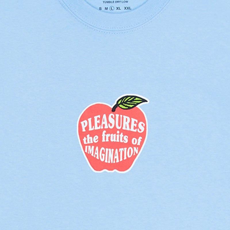 【PLEASURES/プレジャーズ】IMAGINATION T-SHIRT Tシャツ / POWDER BLUE