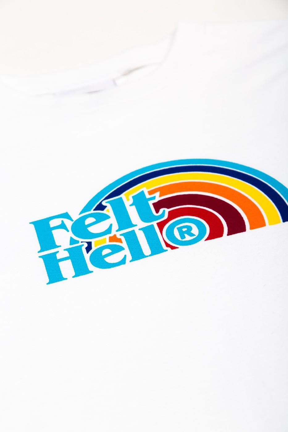【FELT/フェルト】HELL L/S T-SHIRT ロングTシャツ / WHT
