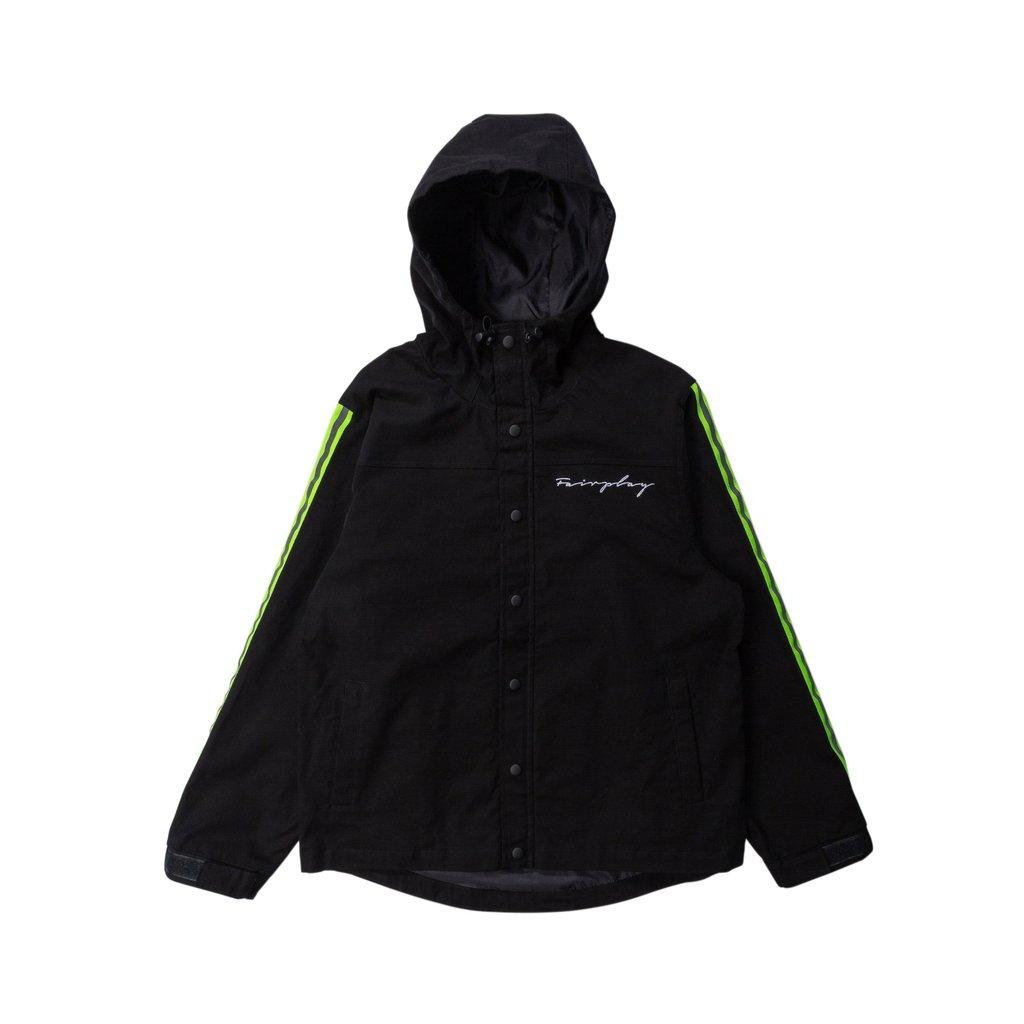 【FAIRPLAY BRAND/フェアプレイブランド】SHILOH ジップアップジャケット / BLACK