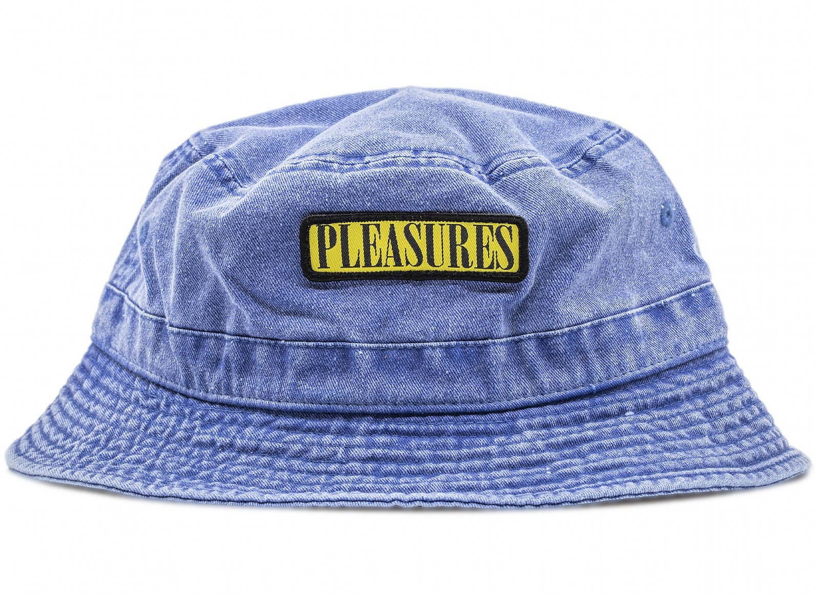 【PLEASURES/プレジャーズ】SPANK BUCKET HAT バケットハット / WASHED BLUE