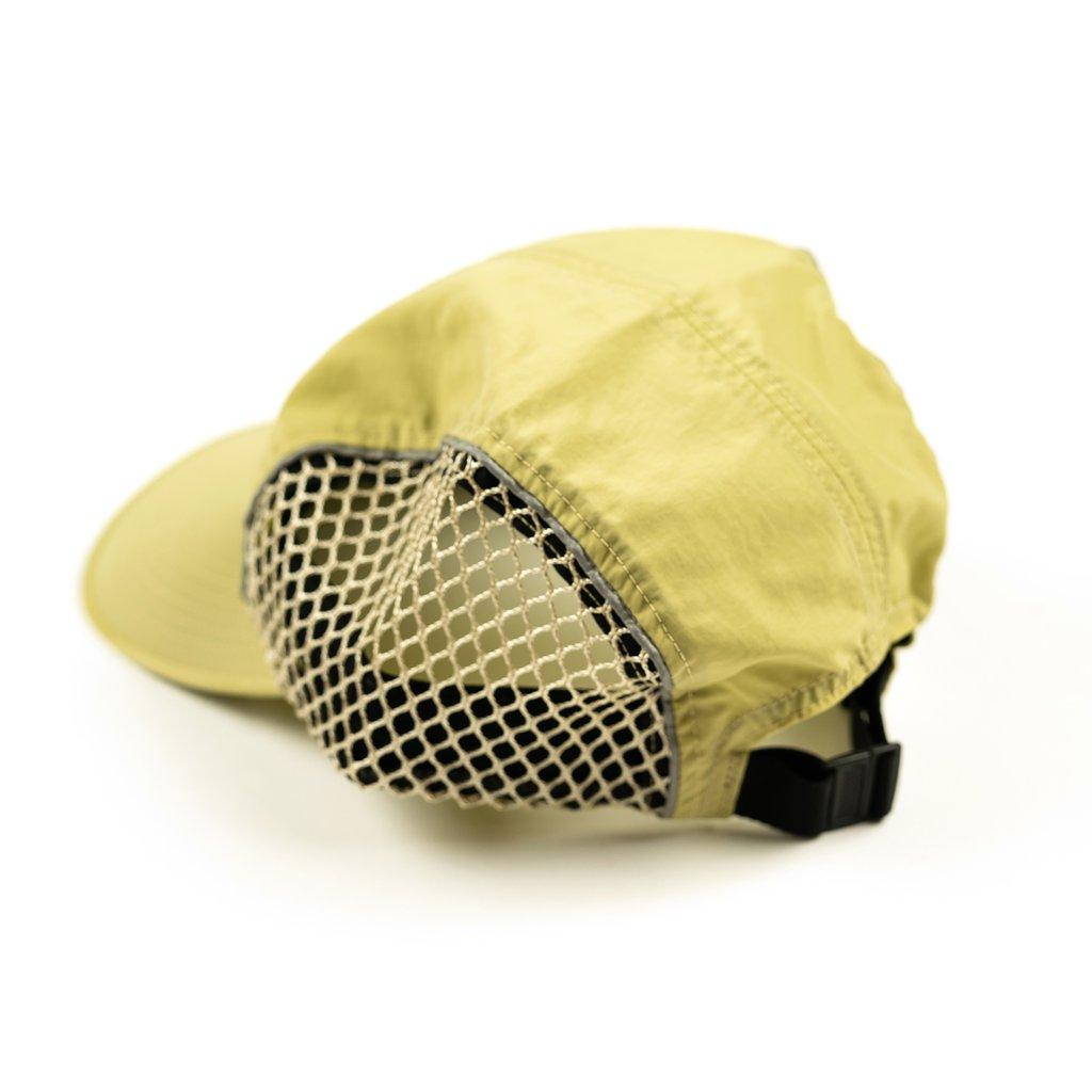 【RAISED BY WOLVES/レイズドバイウルブス】TRIDENT 4 PANEL CAP ストラップバックキャップ / GOLD