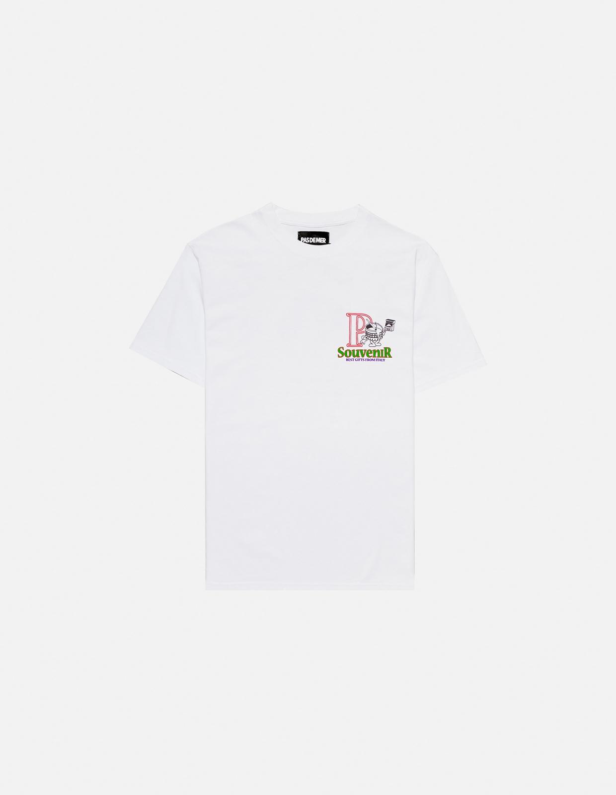 【PAS DE MER/パドゥメ】SOUVENIR T-SHIRT Tシャツ / WHITE