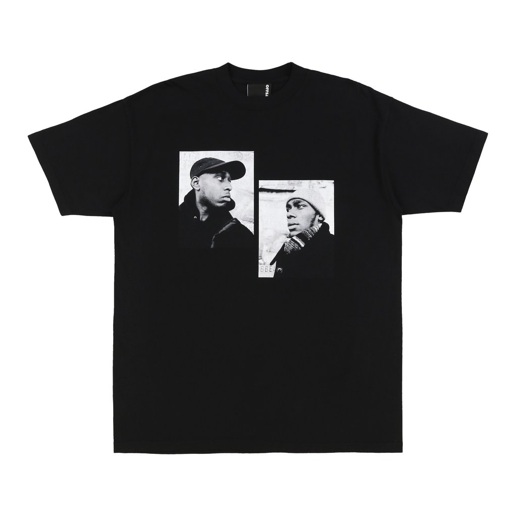 【OFF SAFETY/オフセーフティー】REFLECTION TEE Tシャツ / BLACK