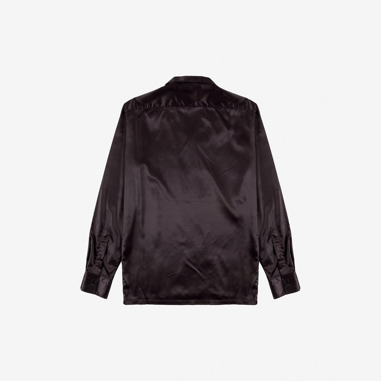 【PAS DE MER/パドゥメ】GRAFFITI SHIRT 長袖シャツ / BLACK