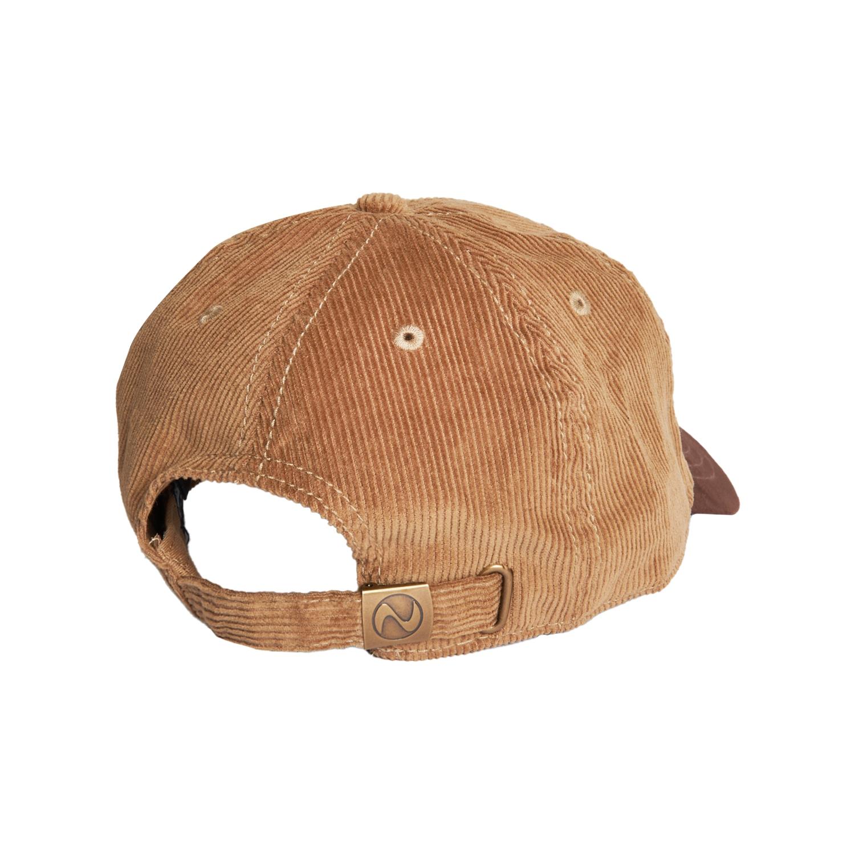 【PLEASURES/プレジャーズ】OLD E CORDUROY POLO CAP ポロキャップ / BROWN