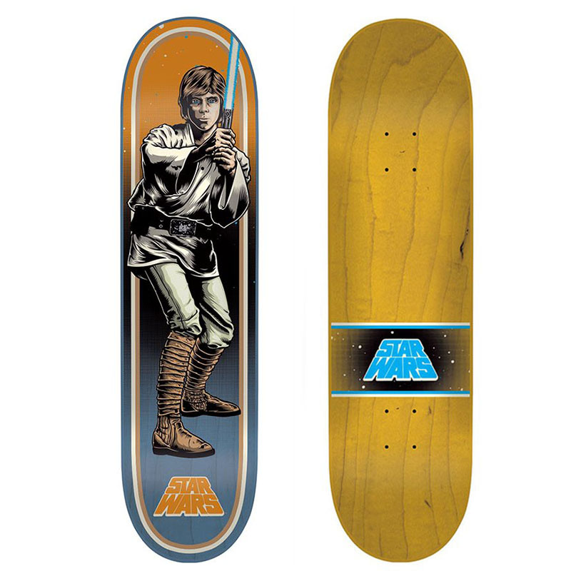 【SANTA CRUZ/サンタクルーズ X STAR WARS/スターウォーズ】LUKE SKYWALKER LTD DECK 7.8X31.7