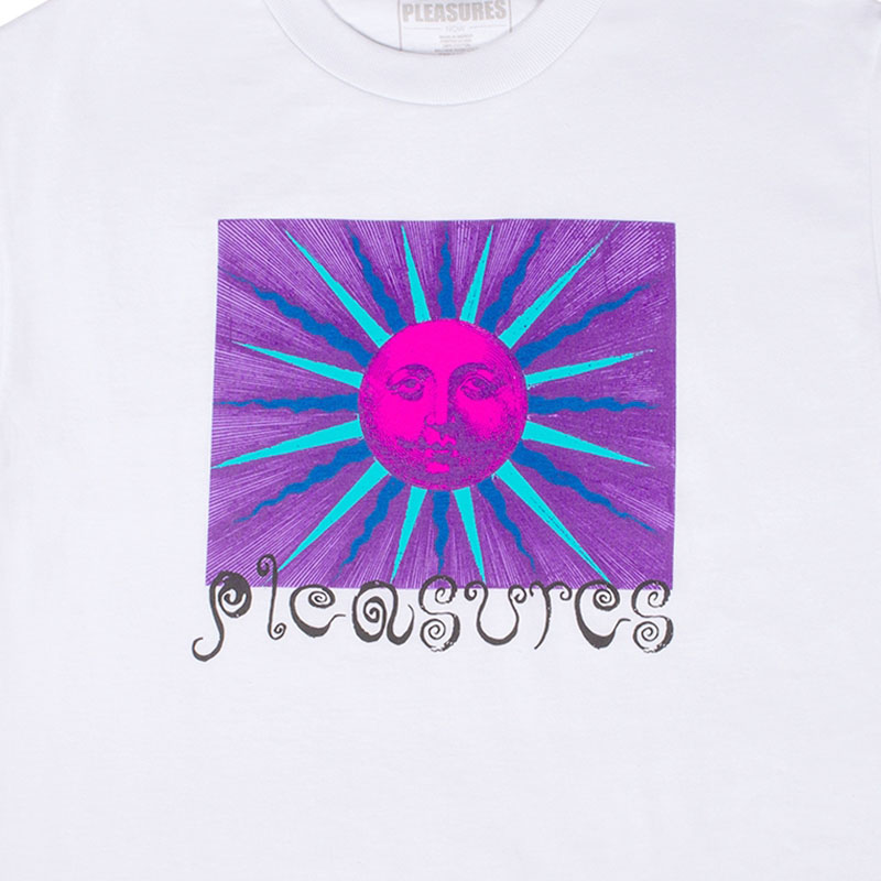 【PLEASURES/プレジャーズ】OBSESSION T-SHIRT Tシャツ / WHITE