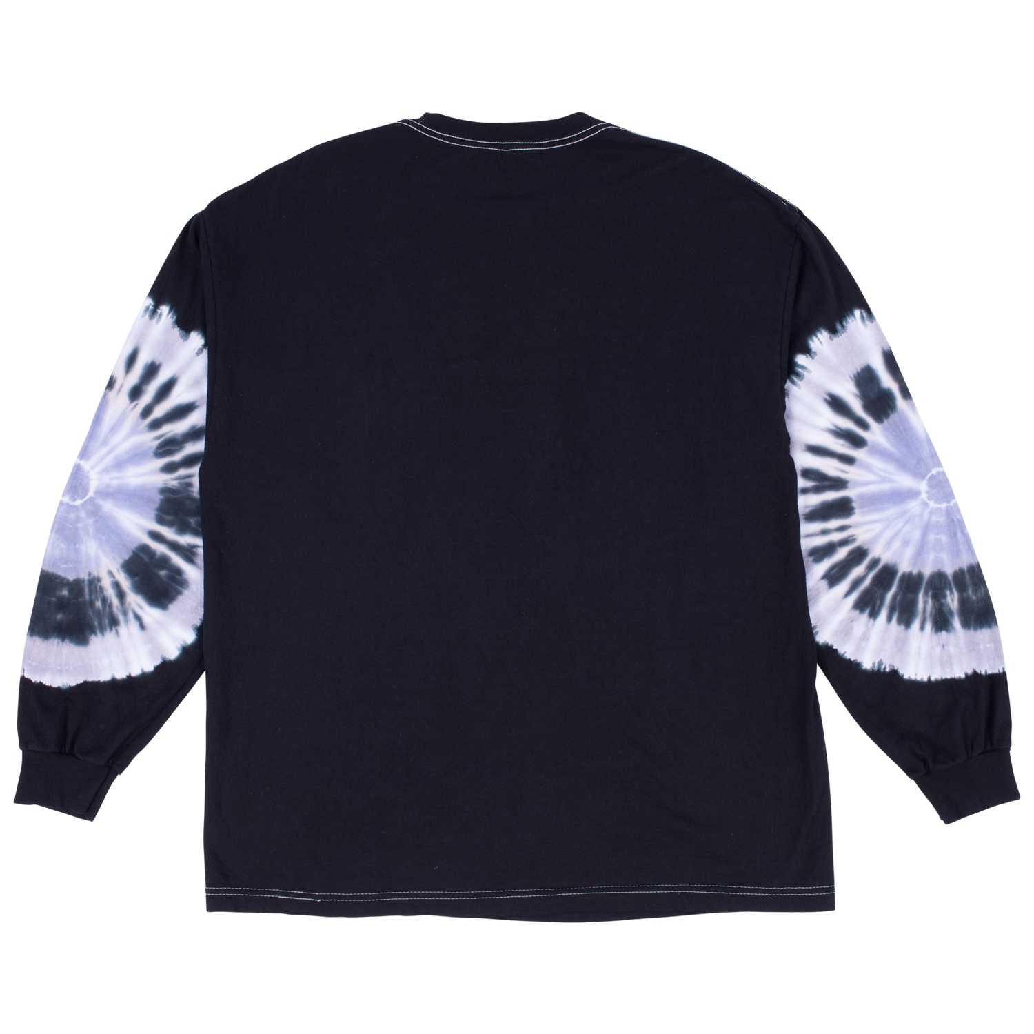 【PLEASURES/プレジャーズ】HAIRCUT TYE DYE LONG SLEEVE ロングTシャツ / BLACK