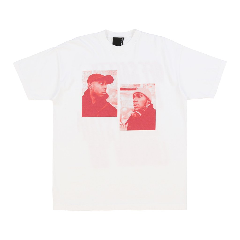 【OFF SAFETY/オフセーフティー】REFLECTION TEE Tシャツ / WHITE