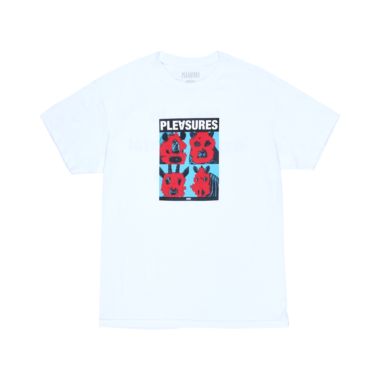 【PLEASURES/プレジャーズ】LOST T-SHIRT Tシャツ / WHITE