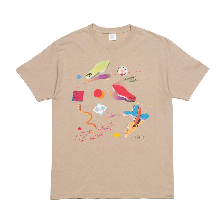 【ACAPULCO GOLD/アカプルコ ゴールド】DANCE TEE Tシャツ / KHAKI