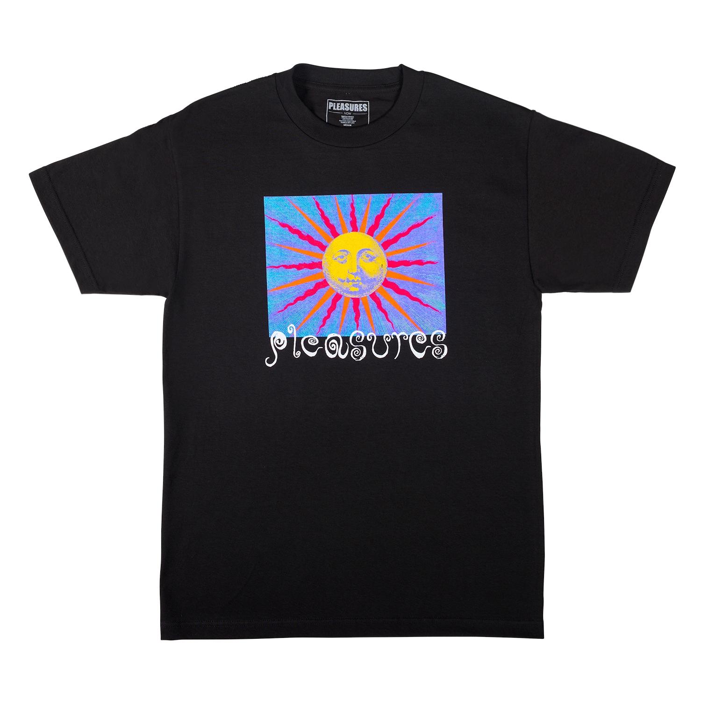 【PLEASURES/プレジャーズ】OBSESSION T-SHIRT Tシャツ / BLACK